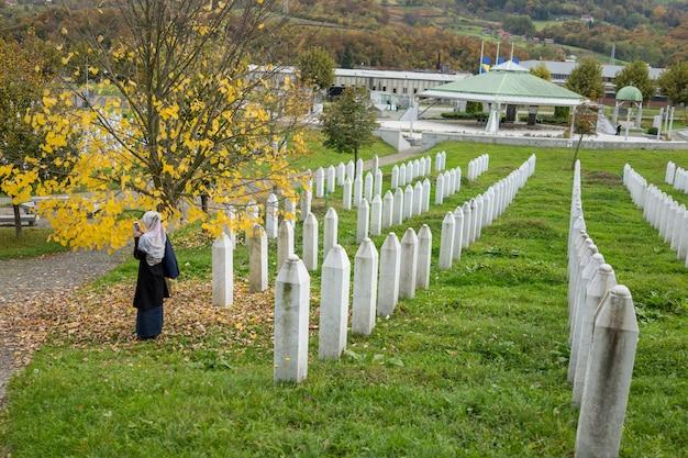 Centro memoriale di srebrenica per le vittime di crimini di guerra commesse nella guerra bosniaca