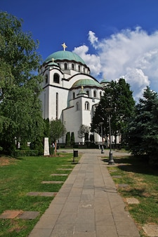 Cattedrale di san sava, belgrado, serbia