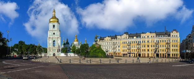 Piazza santa sofia a kiev, ucraina