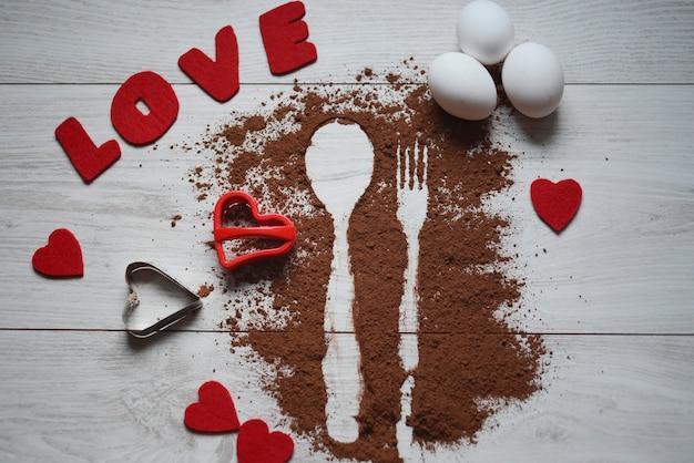 Composizione di san valentino