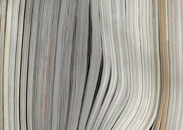 Pila di libro di carta texture di sfondo