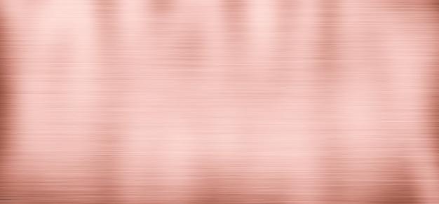 Fondo in metallo con struttura in acciaio inossidabile, colore oro rosa