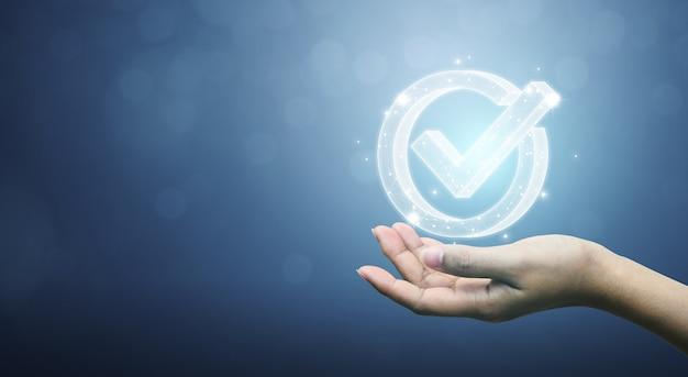 Garanzia di garanzia della certificazione del controllo di qualità standard