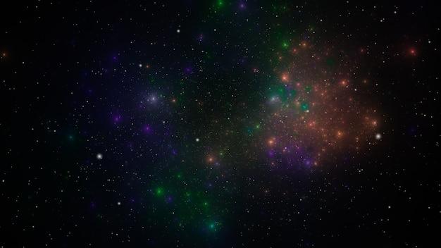 Dettagli di trama di sfondo spazio esterno stellato