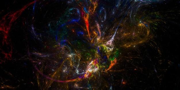 Trama di sfondo dello spazio cosmico stellato