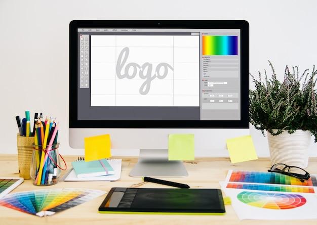Logo desktop di cancelleria
