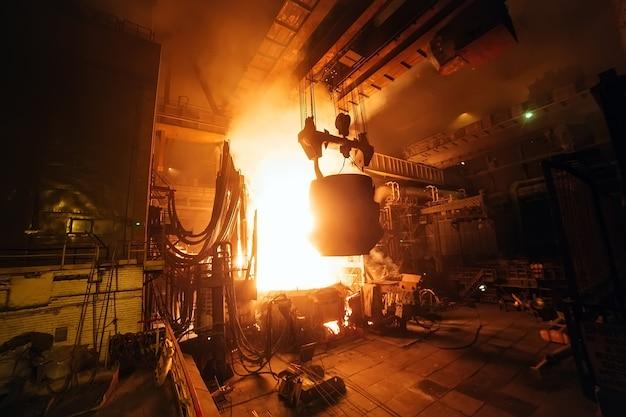 Produzione di acciaio nei forni elettrici