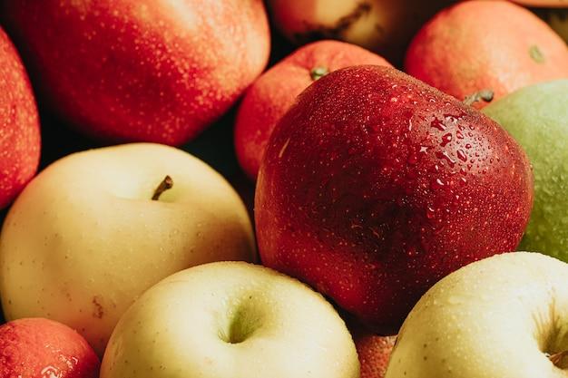 Still life close up di frutti sani con un aspetto molto delizioso