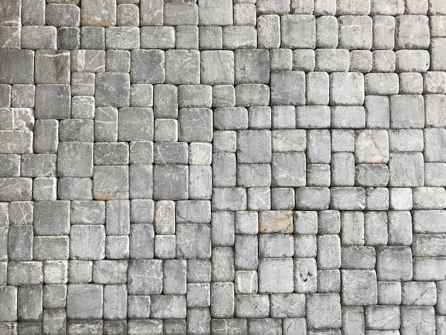 Blocco di roccia del muro di pietra.