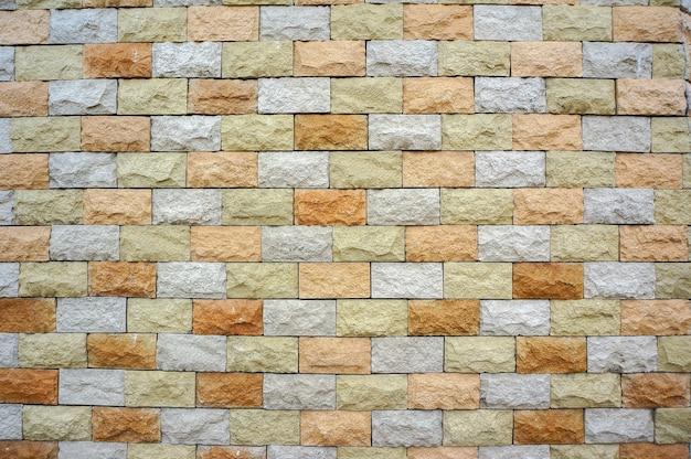 Struttura del muro di pietra
