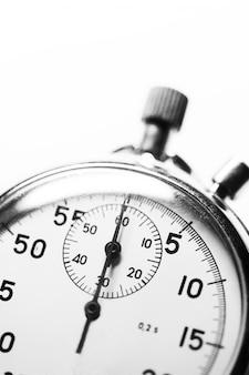Cronometro bianco e nero