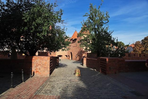 La strada a varsavia polonia