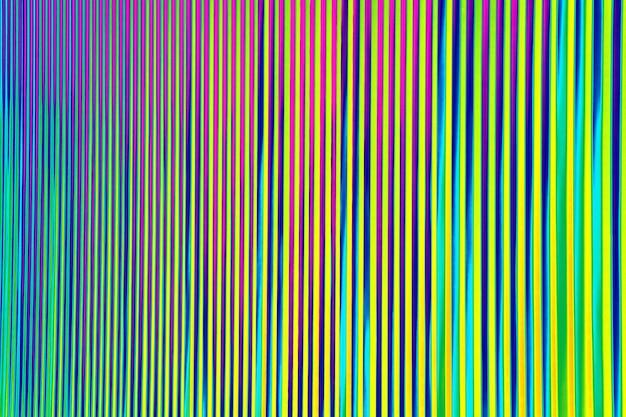 Colori assortiti luminosi della parete di struttura a strisce