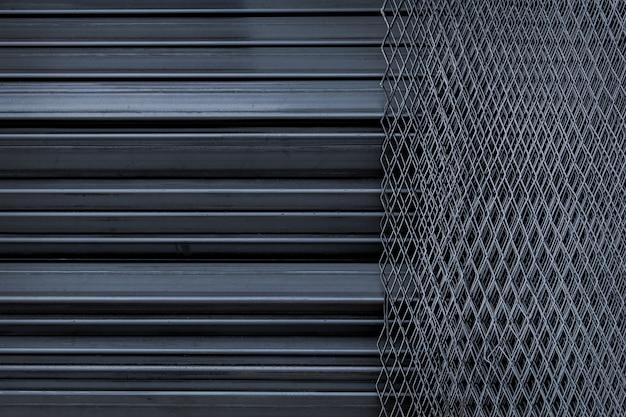 Linea di recinzione e acciaio daimond di ferro