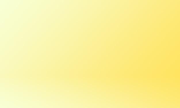 Sfondo di studio brillante giallo oro sfumato