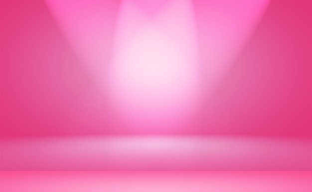 Studio sfondo concept - astratto vuoto sfumatura di luce viola studio camera sfondo per il prodotto. sfondo semplice da studio.