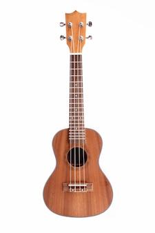 Studio shot di chitarra ukulele