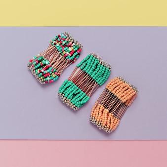 Accessori alla moda. set di bracciali alla moda