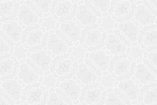 Elegante sfondo bianco con elementi geometrici triangolo esagonale forme astratte. modello per la progettazione di siti web, layout, mockup già pronti