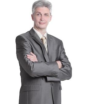 Uomo d'affari moderno di successo