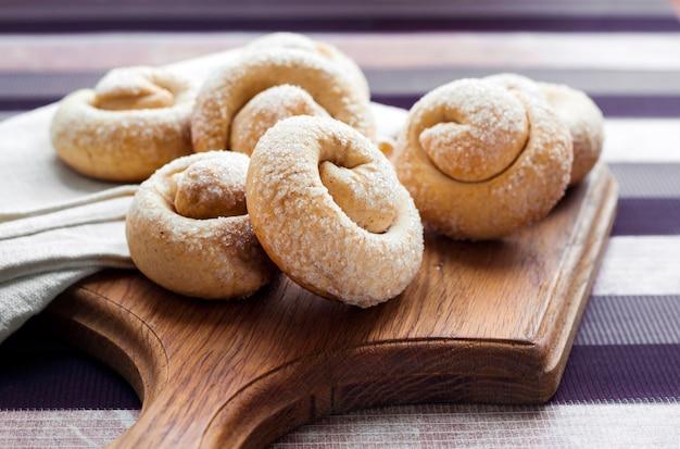 Biscotti di zucchero con cannella
