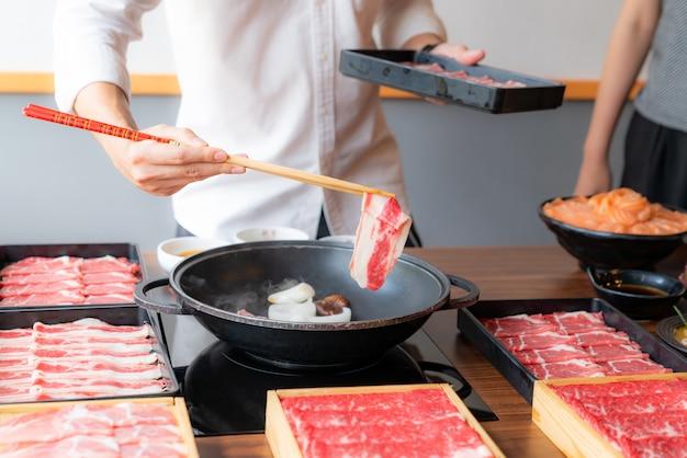 Cucina sukiyaki