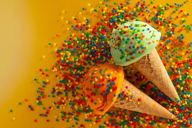 Estate e gelato