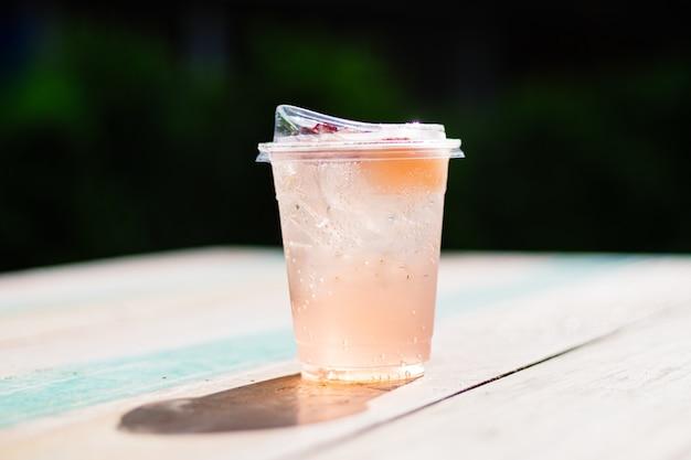 Bevanda analcolica ghiacciata estiva