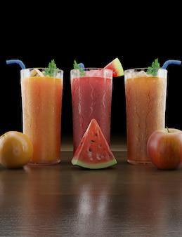 Succhi estivi di frutta fresca