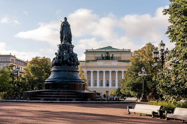 Via di estate a st peterburg in russia