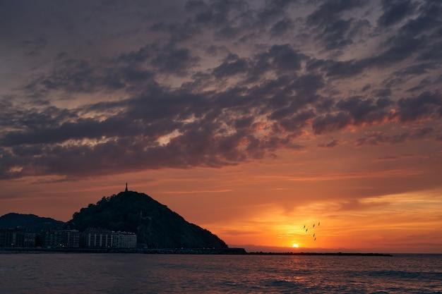 Tramonto al tramonto a donosti
