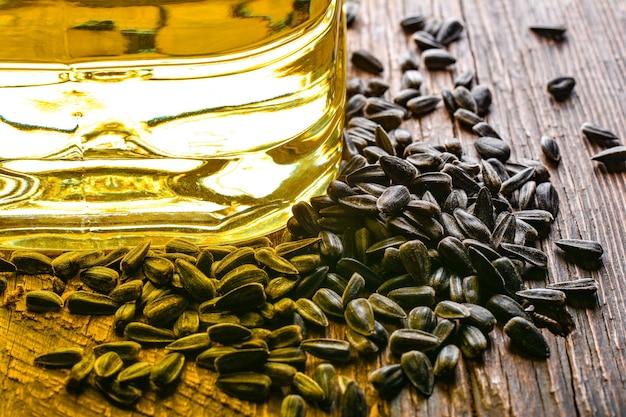 Semi di girasole e olio
