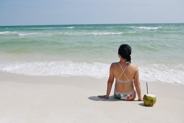 Giornata di sole sulla spiaggia