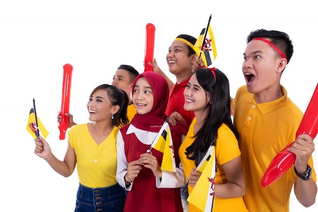Sostenitore della squadra nazionale del brunei