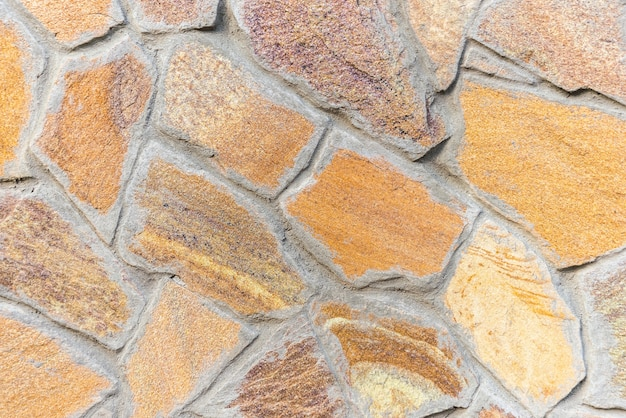 Superficie delle piastrelle di pietre.
