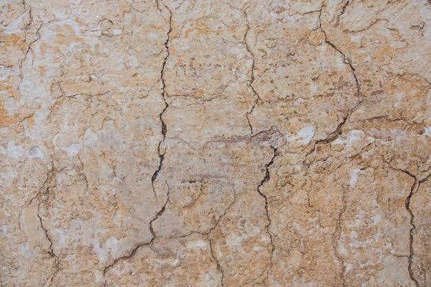 Consistenza della superficie del vecchio muro di cemento