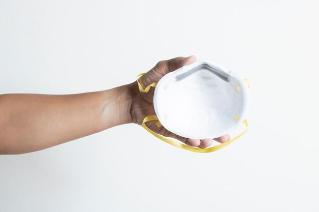 Il risanamento della mascherina chirurgica protegge la polvere di virus covid19 pm2.5 malattia contagiosa mortale sana isolata