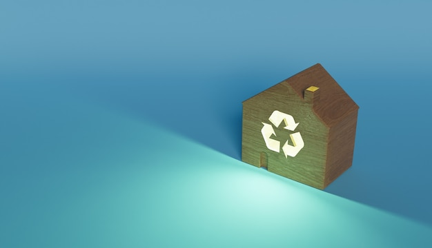 Concetto di edilizia sostenibile