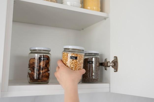 Concetto di stile di vita sostenibile a casa