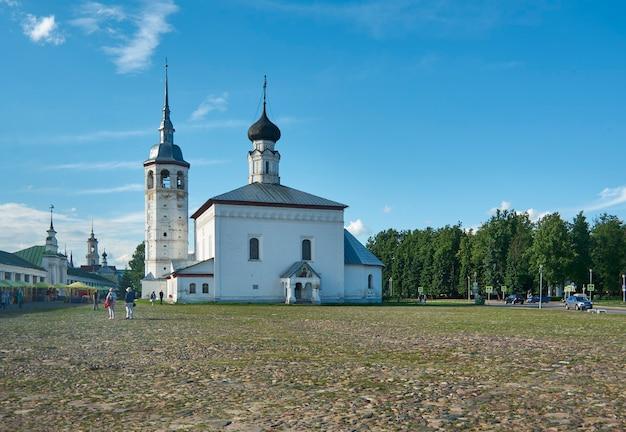 Suzdal - il centro storico della città fa parte del golden ring travel