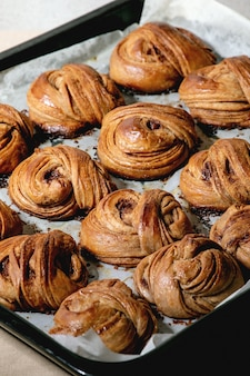Panini dolci alla cannella svedesi