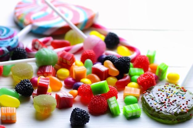 Fagiolo di gelatina di caramelle dolci