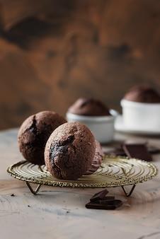 Muffin dolci al cioccolato