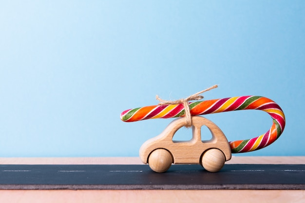 Dente dolce macchina per bambini porta lecca-lecca