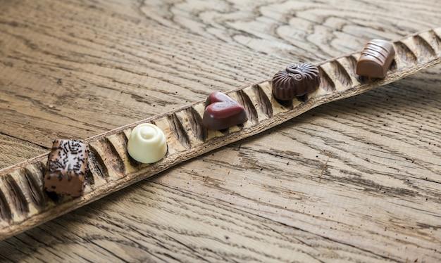 Caramelle al cioccolato svizzere