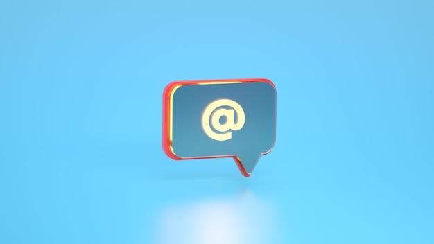Al simbolo del collegamento di ricerca dei simboli sull'icona di notifica dei social media commenti sull'icona della menzione del thread