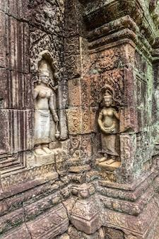 Tempio di ta som in angkor wat a siem reap, cambogia