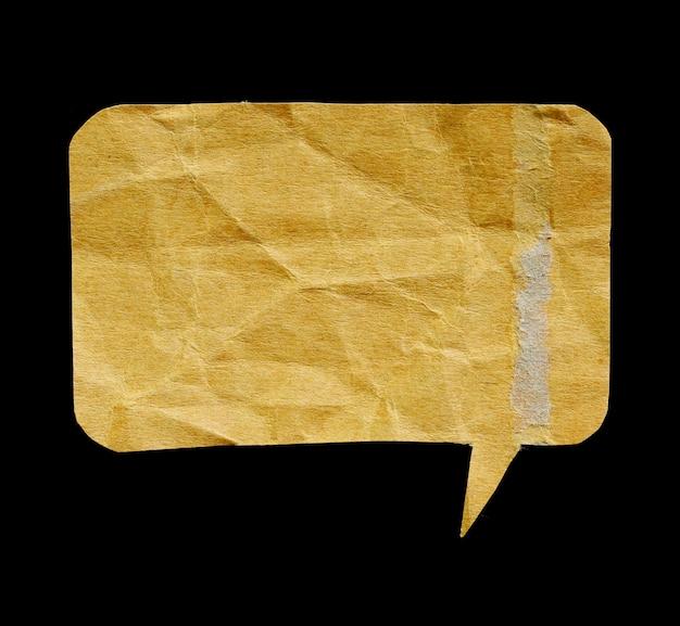 Taggare il bastoncino di carta riciclata
