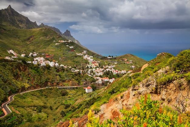 Valle di taganana nelle montagne di anaga