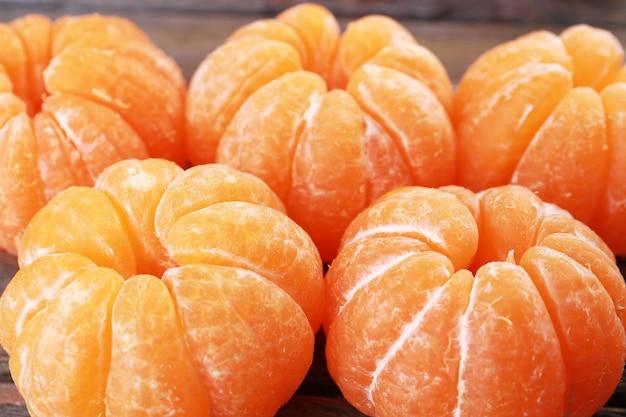 Primo piano dei mandarini